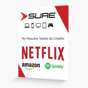 Tarjeta Netflix