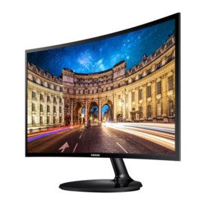 """Monitor Samsung LED Curvo 27"""" 1920 x 1080 VGA, HDMI y 3.5 mm LC27F390FHLXZP"""
